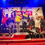 Награждение SBX Монтафон мужчины и женщины