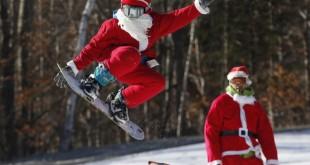 Федерация сноуборда России поздравляет всех с Новым годом и Рождеством!