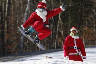 Happy New Year, Snowboard