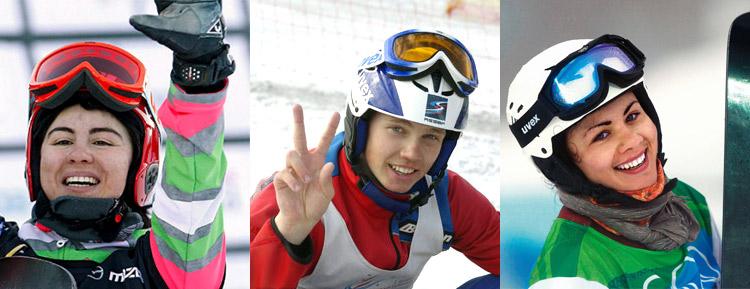 Слева направо: Екатерина Тудегешева, Константин Котов, Екатерина Илюхина
