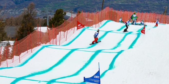 В шаге от медалей — итоги этапа Кубка Мира в дисциплине сноуборд-кросс