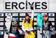FIS Snowboard World Cup - Kayseri TUR - PGS - KUMMER Patrizia SUI, ZAVARZINA Alena RUS, LEDECKA Ester CZE © Miha Matavz/FIS
