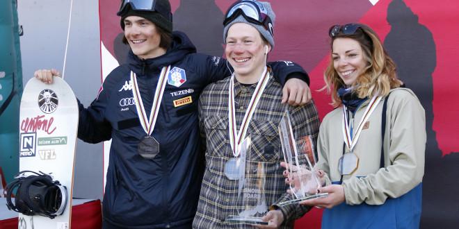 Елена Костенко и Никита Тютерев — лидеры общего зачета Кубка Европы в биг-эйре