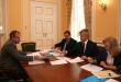 Рабочая встреча Дениса Тихомирова с Министром спорта России
