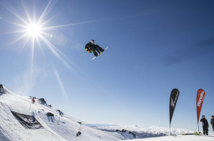 FIS Snowboard World Cup. Marcus Kleveland from Norway wins Mens Slopestyle final at Cardrona ski resort during the Audi quattro Winter Games NZ held in the Queenstown Lakes district and Naseby in Central Otago, New Zealand.  4th September 2017