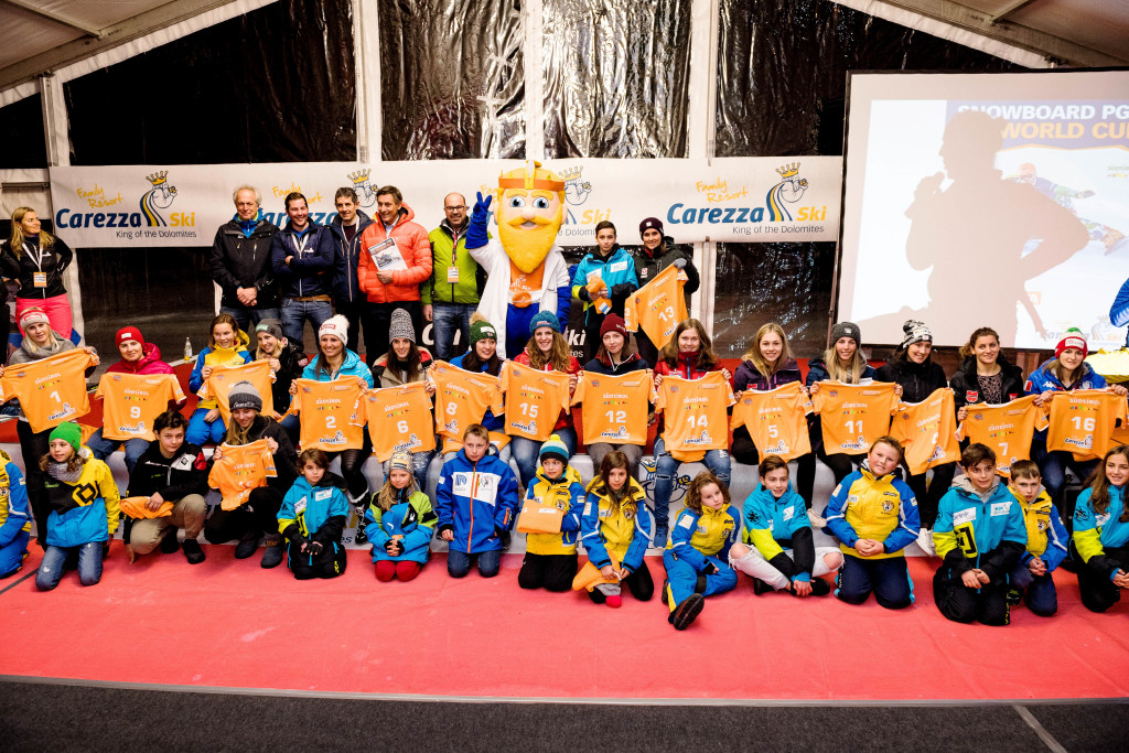 FIS Snowboard World Cup - Carezza ITA - PGS - Bib draw
