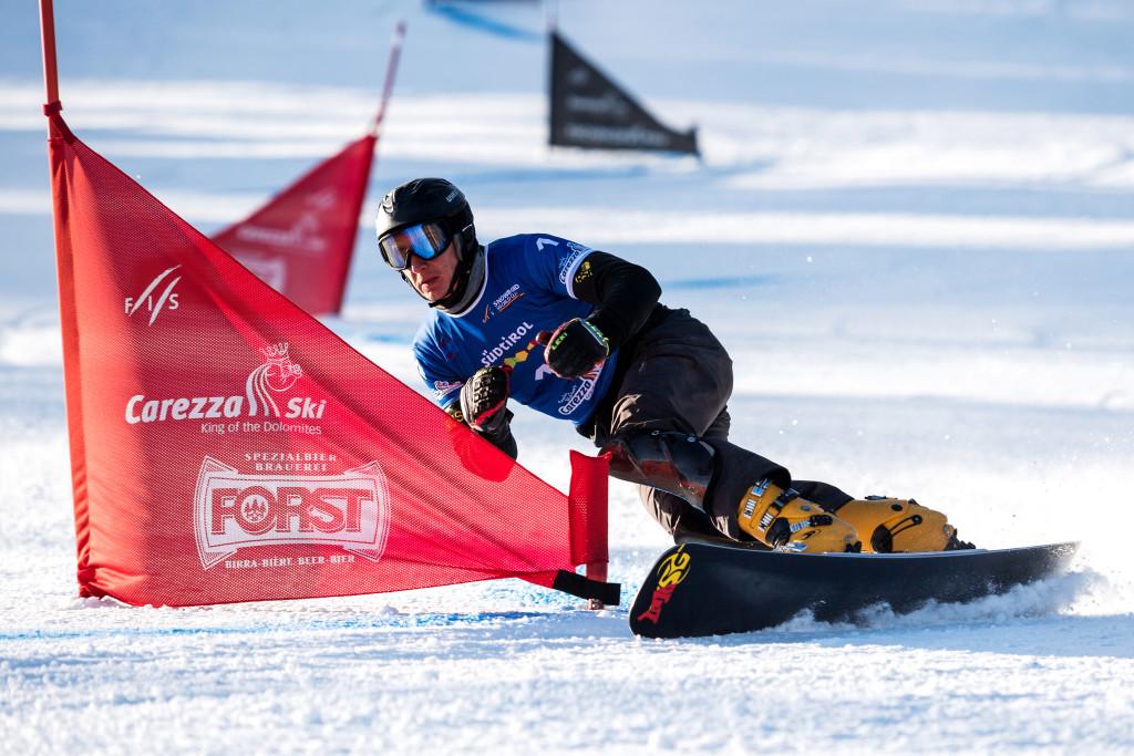 FIS Snowboard World Cup - Carezza ITA - PGS - SOBOLEV Andrey RUS © Miha Matavz