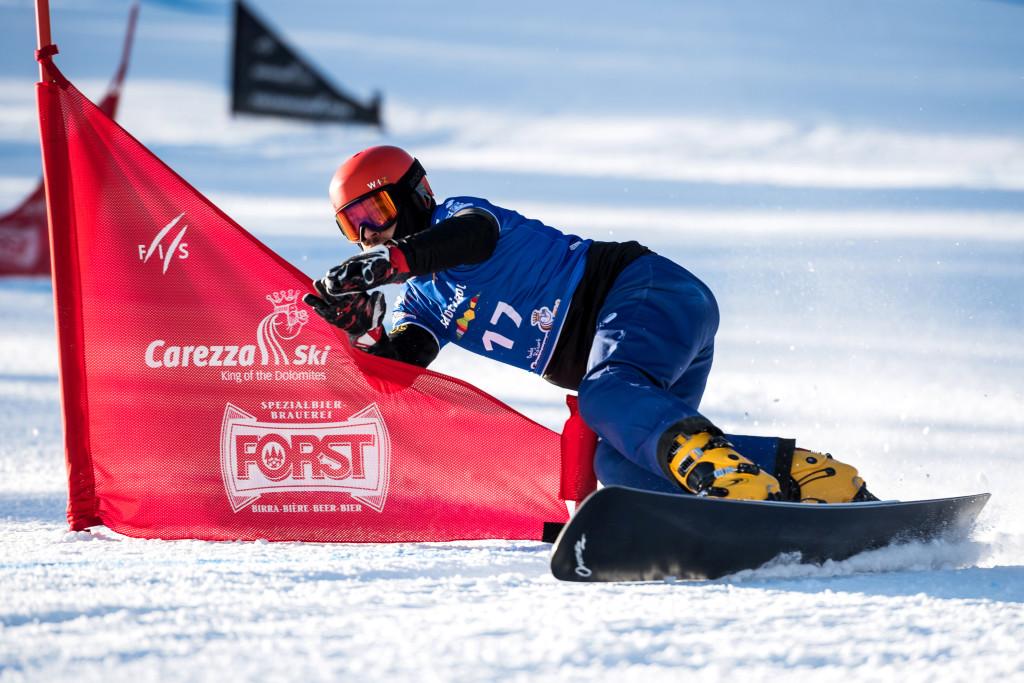 FIS Snowboard World Cup - Carezza ITA - PGS - WILD Vic RUS © Miha Matavz