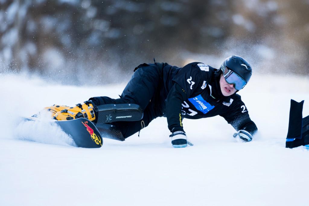 FIS Snowboard World Cup - Rogla SLO - PGS - SARSEMBAEV Dmitry RUS © Miha Matavz/FIS