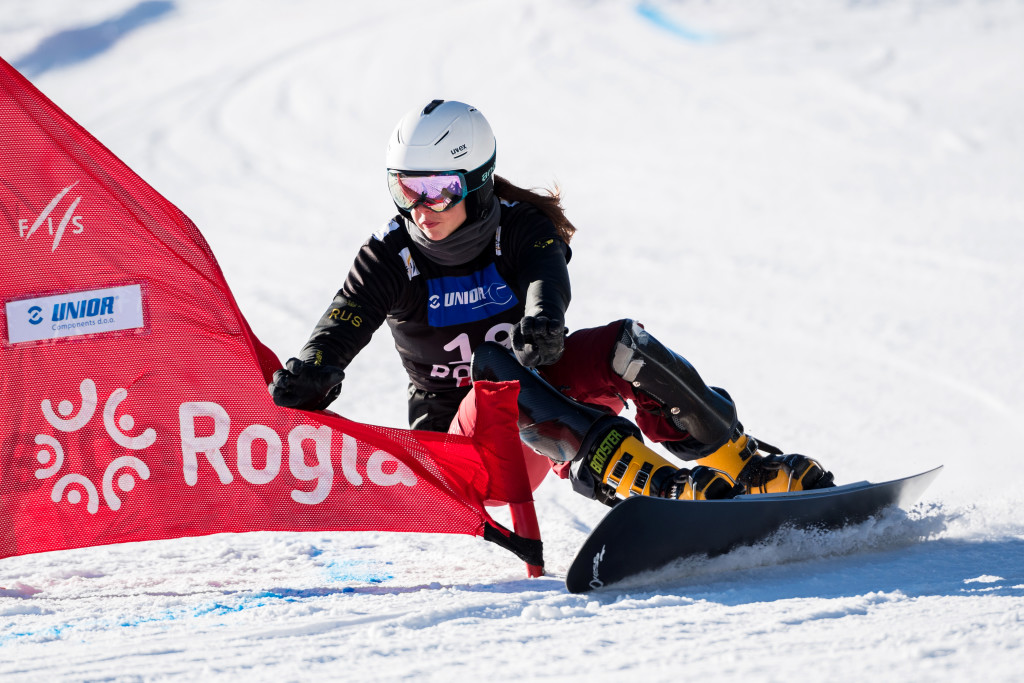 FIS Snowboard World Cup - Rogla SLO - PGS - SOBOLEVA Natalia RUS © Miha Matavz/FIS
