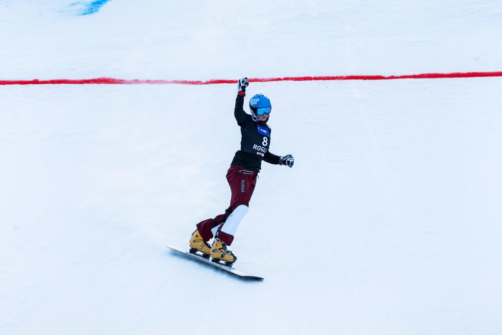 FIS Snowboard World Cup - Rogla SLO - PGS - ZAVARZINA Alena RUS © Miha Matavz/FIS