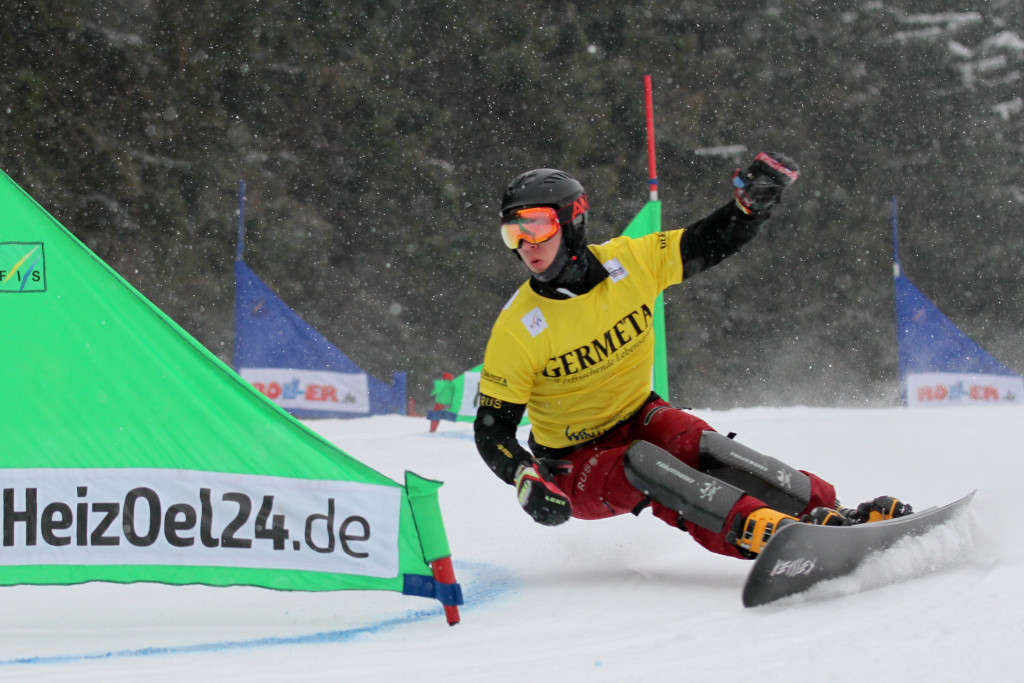 Dmitry Loginov (RUS) competes at PSL World Cup Winterberg