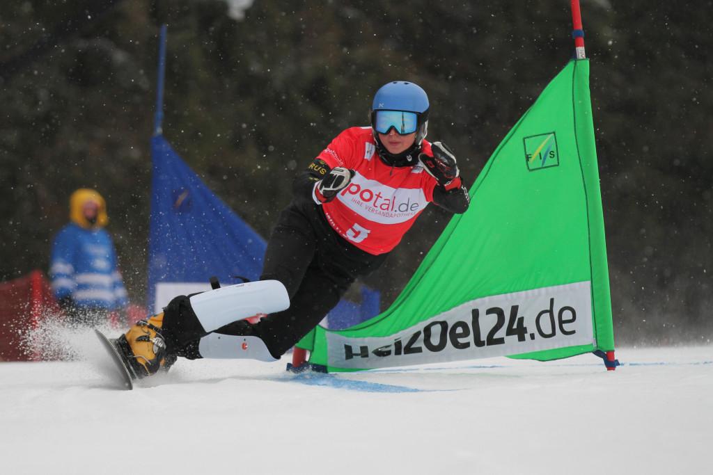 Alena Zavarzina (RUS) competes at PSL World Cup Winterberg