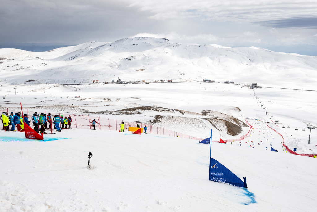 FIS Snowboard World Cup - Kayseri TUR - PGS - Course overview © Miha Matavz/FIS