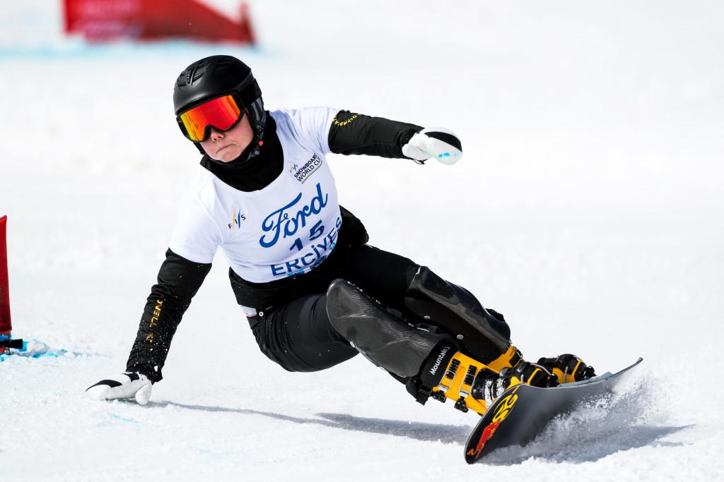 FIS Snowboard World Cup - Kayseri TUR - PGS - BYKOVA Milena RUS © Miha Matavz/FIS