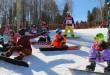 Детские соревнования по сноуборду прошли в Ленинградской области / 14 апреля, ГК «Красное озеро»