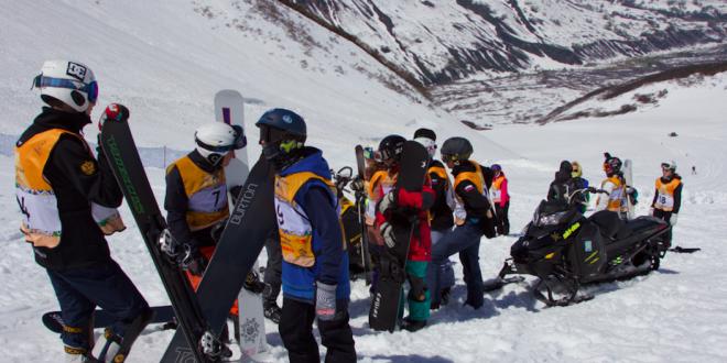 На Камчатке сегодня прошли соревнования по сноуборд-кроссу