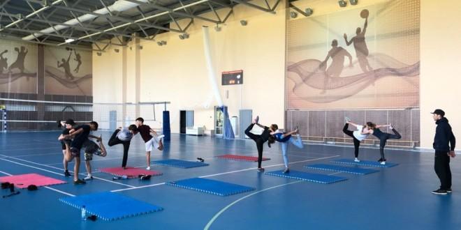 В Подмосковье завершился сбор юниорской команды в акробатических дисциплинах