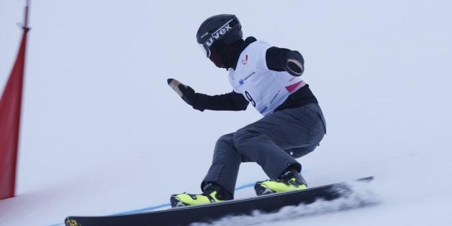 Малахова и Шкурихин — победители IV этапа Кубка России в дисциплине параллельный слалом-гигант