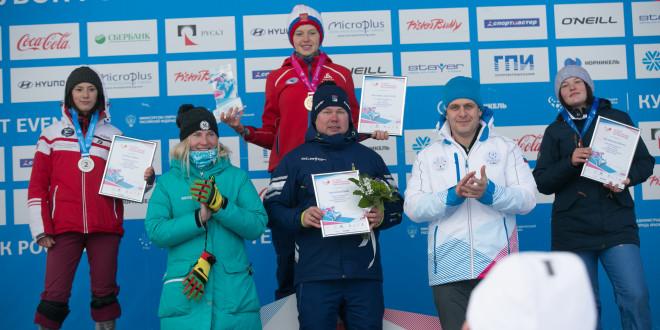 IV этап Кубка России по сноуборду в параллельных дисциплинах завершился победой Малаховой и Котова