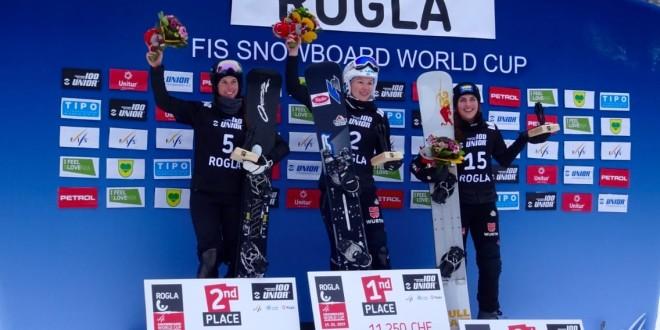 Соболева завоевала серебро на этапе Кубка мира в Словении