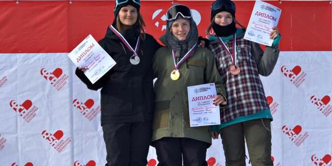 Никита Автанеев и Дарья Беликова — чемпионы России в дисциплине хаф-пайп