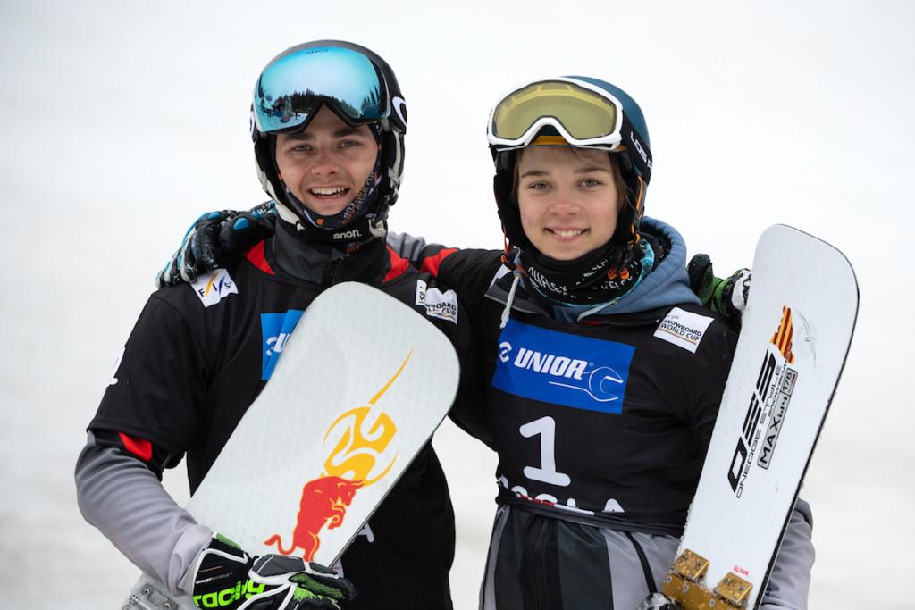 FIS Junior World Championship - Rogla SLO - Snowboard Parallel Team Event - PSL © Miha Matavz/FIS