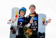 FIS Junior World Championship - Rogla SLO - PGS - KUROCHKINA Anastasia RUS and LOGINOV Dmitry RUS © Miha Matavz/FIS