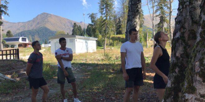 В Сочи завершился сбор у команды по сноуборду в параллельных дисциплинах