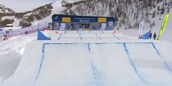 В Италии завершился II этап Кубка мира по сноуборд-кроссу