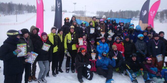 Паршина и Анисимов — победители IV этапа Кубка России по сноуборд-кроссу