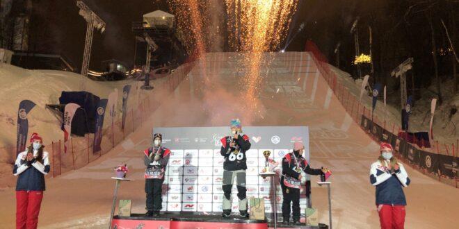 Три медали завоевали россияне на этапе Кубка Европы по биг-эйру в Москве