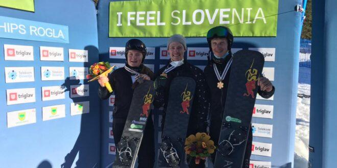 Три медали завоевала сборная России на чемпионате мира в Словении
