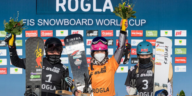 Надыршина и Соболев завоевали серебряные медали на финальном этапе Кубка мира в Словении