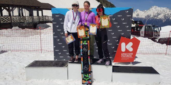 Куликова и Шкурихин — лидеры финала Кубка России в параллельном слаломе